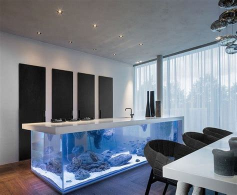 transform    home    fish tank decor   world