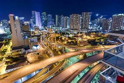 Miami Wallpapers Backgrounds Background Desktop Downtown Pixelstalk