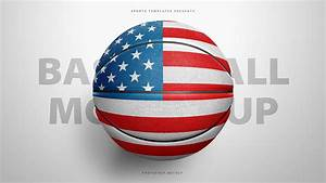 Basketball Ball Photoshop Template C Sports Mockups Psd C Sports