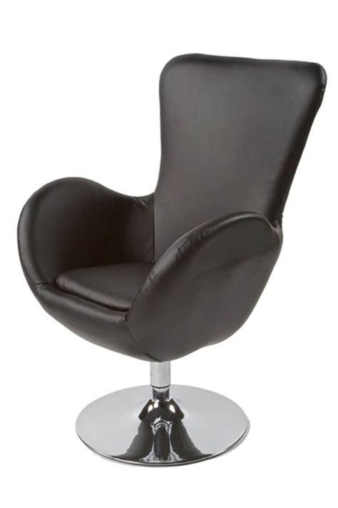 fauteuil de bureau pivotant sans roulettes fauteuil design skara