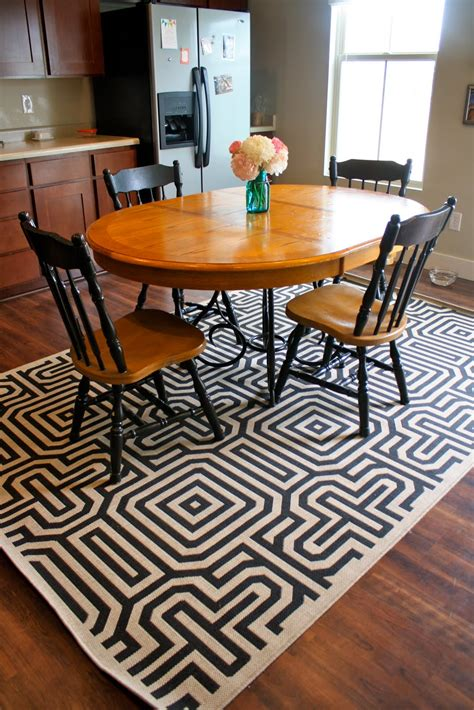 rug under dining table 30 rugs that showcase their power under the dining table