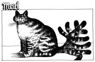 kliban cat kliban cat running away