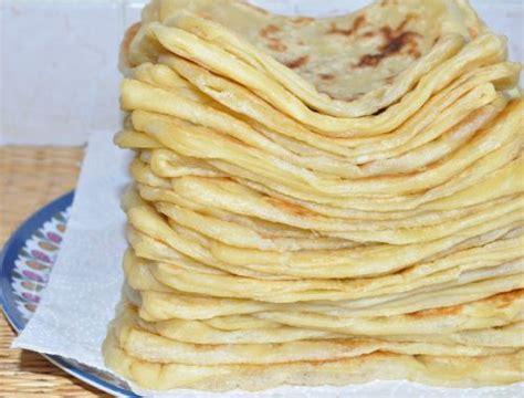 recettes cuisine marocaine msemens crêpes marocaines les recettes de la cuisine