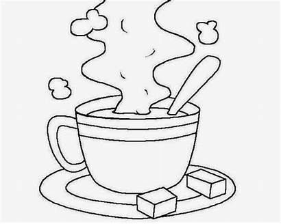 Starbucks Coloring Pages Coffee Cup Drawing Mug