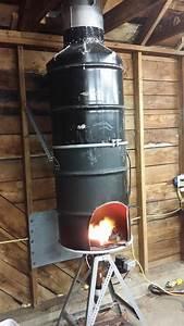 I made a hood for my brake drum forge. | Blacksmith ideas ...