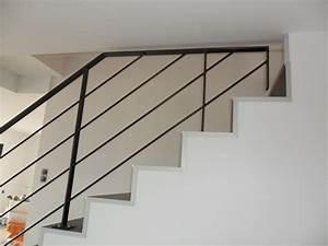 Rambarde d'escalier Demod metal