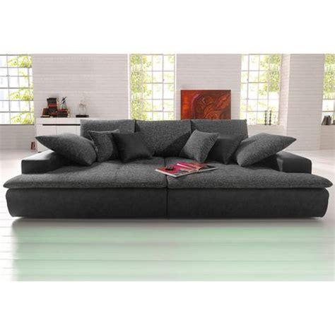 canapé grande assise canapé xl ou microfibre et tissu aspect tweed 3suisses