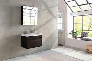 Badmöbel Set Holzoptik : sam badm bel set 2tlg waschtisch 80 cm tr ffeleiche holzoptik parma ~ Watch28wear.com Haus und Dekorationen