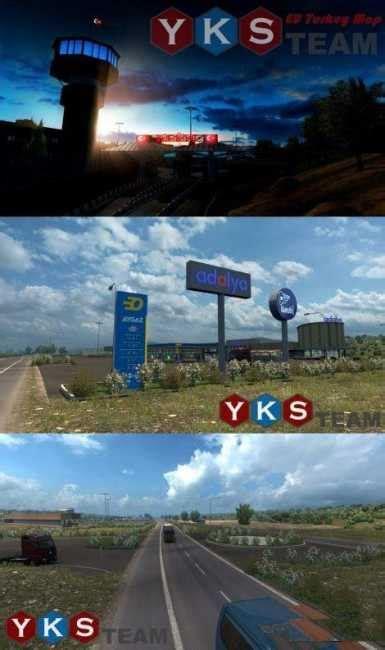 yks team eu turkey map vx ets mods euro truck