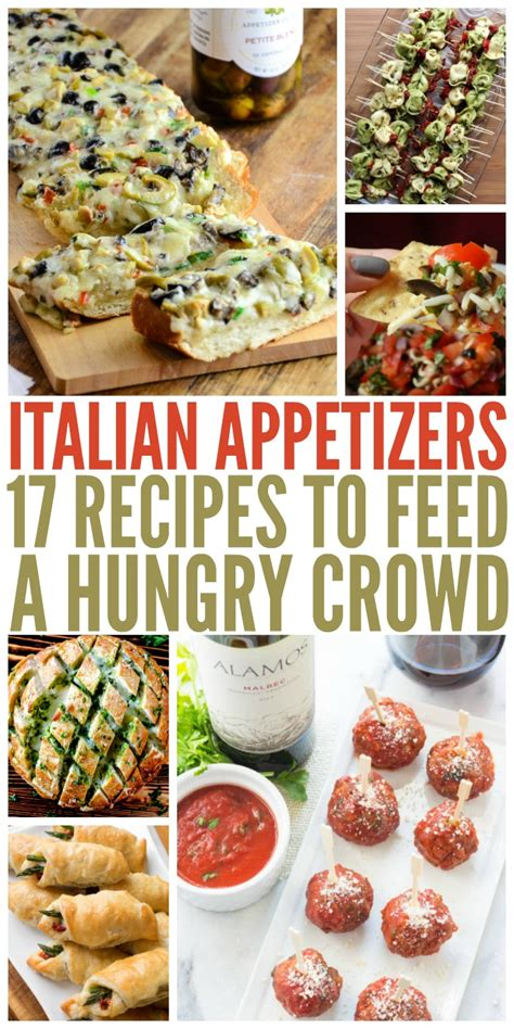 17 Italian Appetizers To Feed A Hungry Crowd