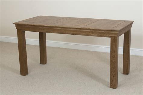 solid oak farmhouse dining table french farmhouse rustic solid oak 5ft dining table