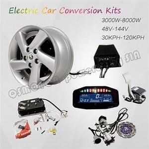 Kit Electrification Voiture : qsmotor 4000w 273 50h v3 bldc brushless electric car hub motor hybrid conversion kits with kelly ~ Medecine-chirurgie-esthetiques.com Avis de Voitures