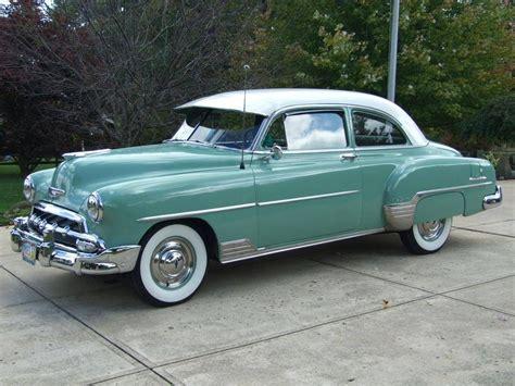 1952 Chevrolet Styleline Deluxe 2-door Sedan..re-pin