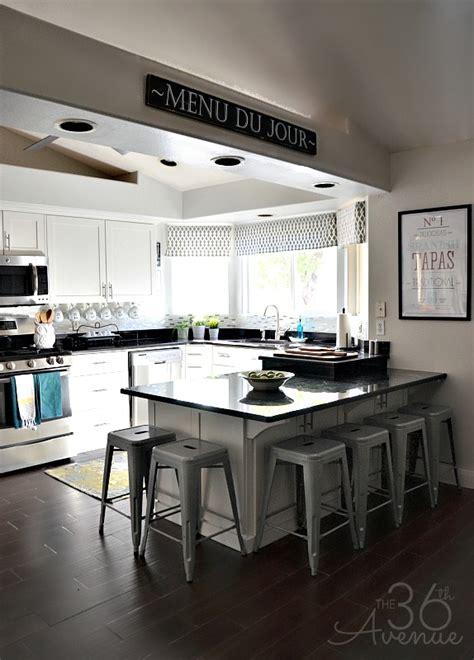 white kitchen makeover   avenue
