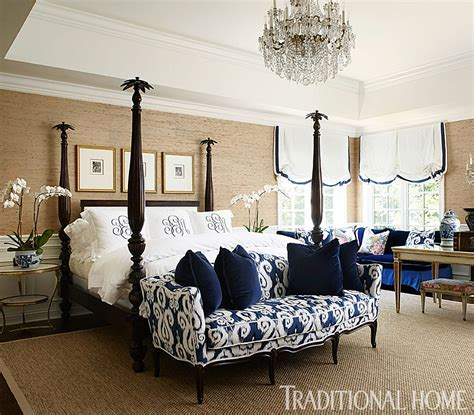 Home Blue And White by Make A Pretty Bed Traditional Home
