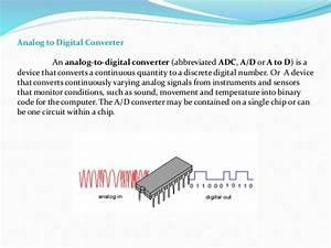 Analog To Digital And Digital To Analog Converter