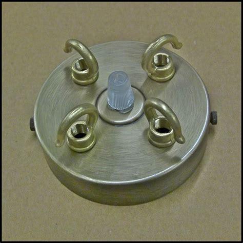 chandelier ceiling plate chandelier antique 3 4 way brass hook plate
