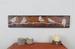 Rustic, Wooden, Wall, Art