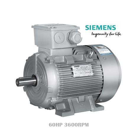 Motor Semes by Motor Siemens 1la5207 2ya80 60hp 3600rpm Improselec