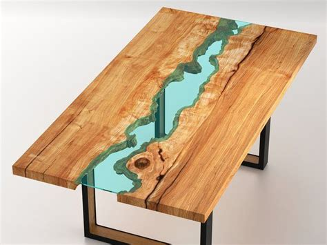 what is a live edge table live edge wood round dining room table with glass river 4