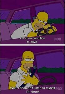 Funny Pictures ... Simpson Drunk Quotes