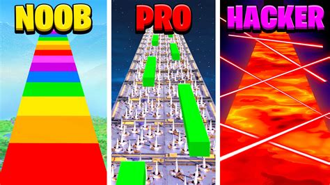 noob  pro  hacker parkour school fortnite creative