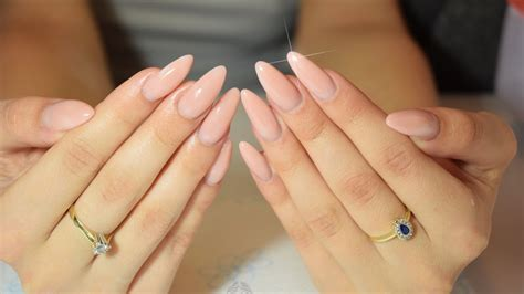 How To Shape Cute Almond Nails