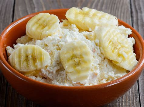 cottage cheese snacks banana and cottage cheese snack recipe and nutrition eat