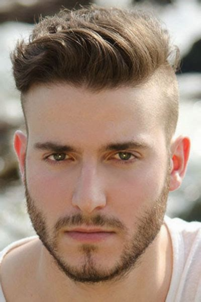 mens shaved sides hairstyles long top hairstyle