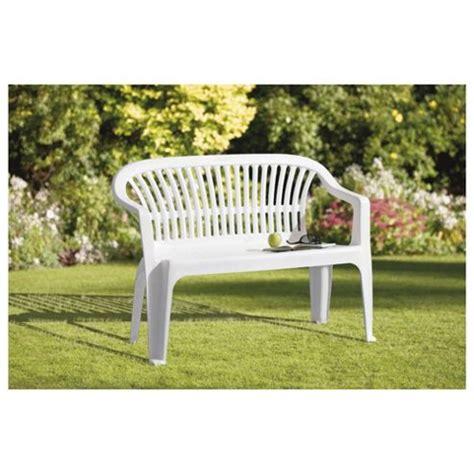 white plastic outdoor benches picture pixelmari