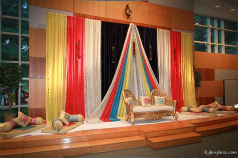 Indian Decoration For Sangeet Party