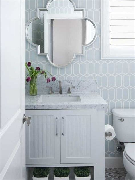 How To Get Bathroom Wallpaper by Blue Bathroom Wallpaper Gallery