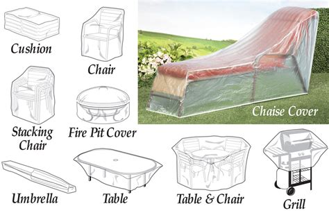 collectionsetc clear weather resistant patio furniture