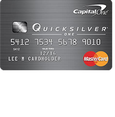 Capital One Quicksilverone Credit Card Login  Make A Payment