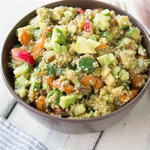 Salat Selber Anbauen : quinoa salat mit avocado und radieschen ~ Markanthonyermac.com Haus und Dekorationen