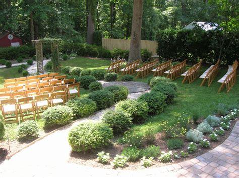 small garden design backyard weddings beautiful backyard