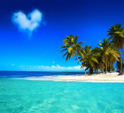 Paradise Tropical Beach Ocean Summer Island Sand