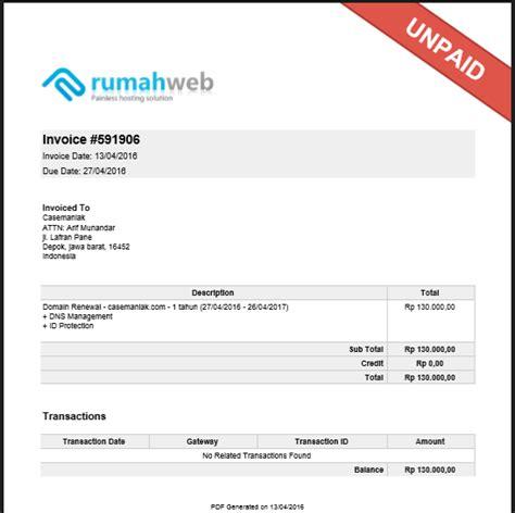 Contoh Invoice Jasa by 99 Contoh Faktur Penjualan Dan Offline Invoice