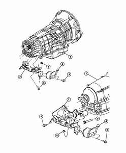 Diagram Of How A 2006 Jeep Commander Transmission Is Removed