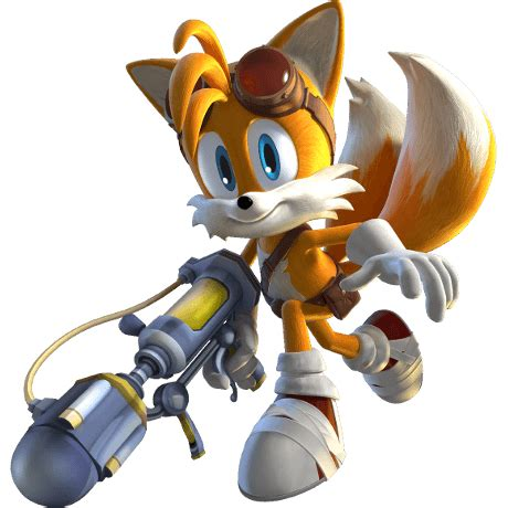 sonic boom fire  ice nintendo ds official artwork