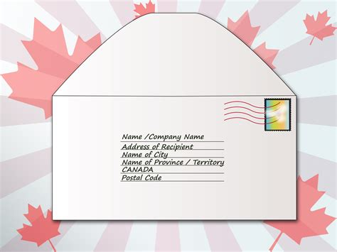 how to address an envelope how to address an envelope to canada 6 steps with pictures
