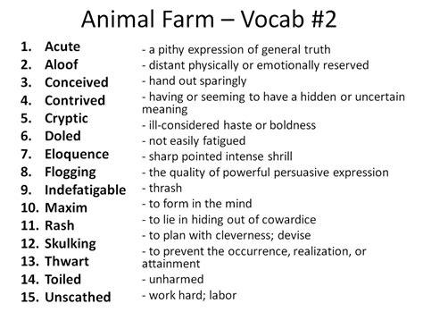 Mrs Fackrell's Blog » English 10 Vocabulary