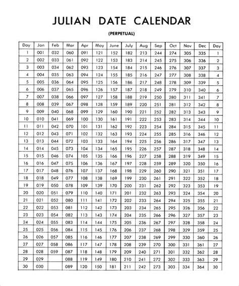 julian calendar graphics calendar template