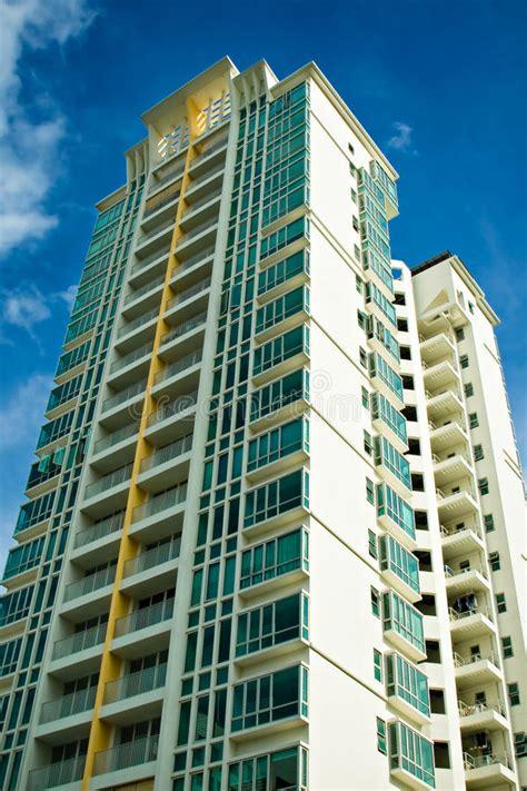luxury condominium high rise stock photo image  home