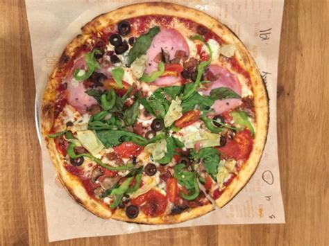 Blaze Pizza Fast-fired Custom Build Your Own Pizza
