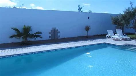 Location Villa Piscine 100% Sans Vis A Vis Djerba Tunisie