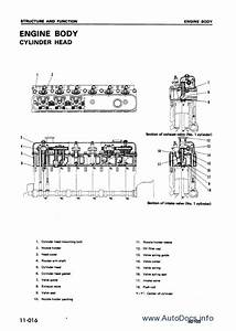 Komatsu Engine 6d170
