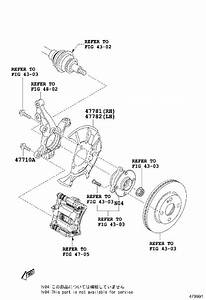 Toyota Yaris Ia Disc Brake Caliper  Right  Front   Brakes  Against  Piston