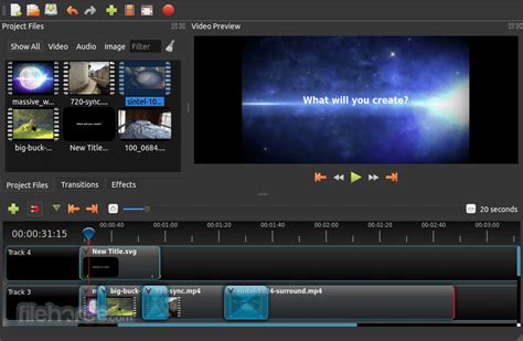 OpenShot Video Editor Download (2020 Latest) for Windows ...