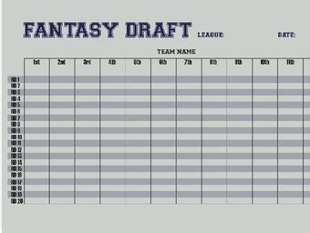 play fantasy football  steps  pictures